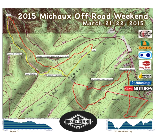 2015 MORW Event Map